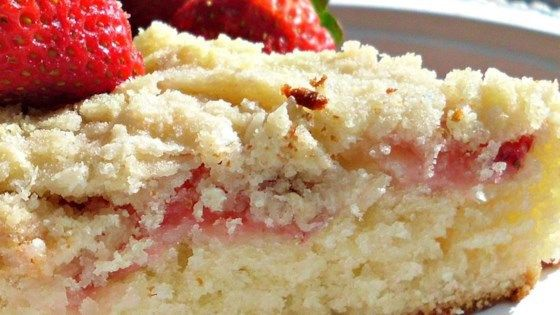 Fresh Strawberry Coffee Cake – the shiny woman