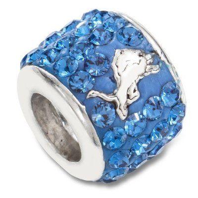 NFL Detroit Lions Charm Beads