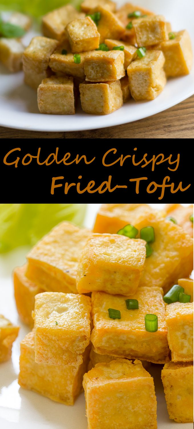 Deep Fried-Tofu Recipe - #recipes #fried #Tofu