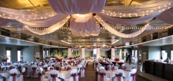 Super cheap, especially if wedding, decorations and reception can take place (included in cost?).  Detroit Princess - Wedding Chartering Information