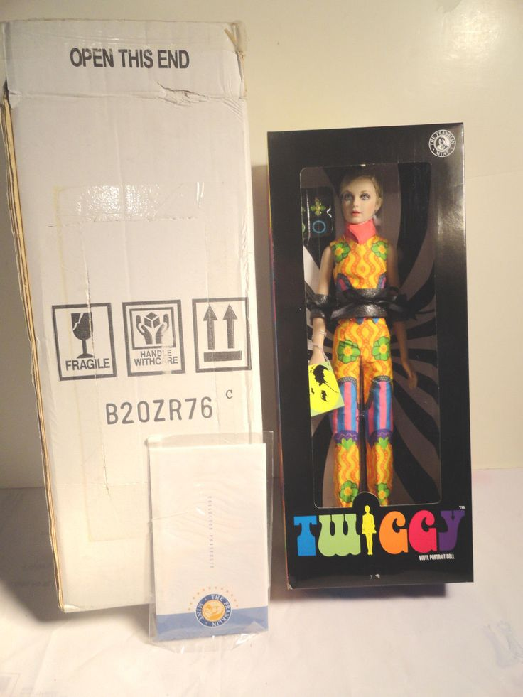 Twiggy Franklin Mint Collection Doll Case Outfits All New I N Box Unused | eBay