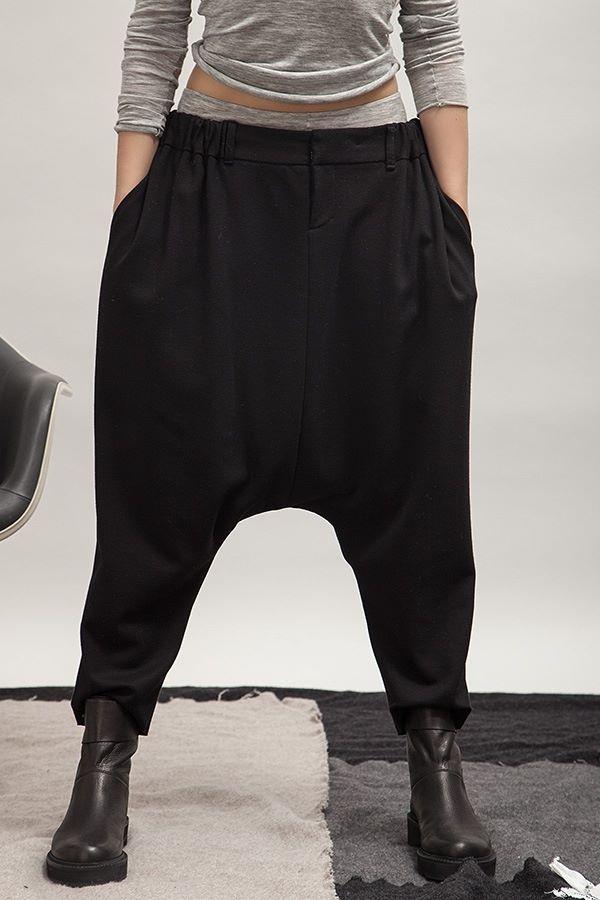 Pantalon-sarouel noir, ALBUM DI FAMIGLIA                                                                                                                                                                                 Plus