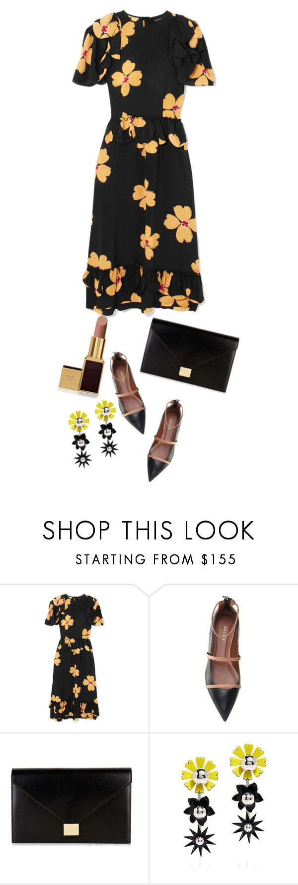 """""""Untitled #300"""" by shinrashuya ❤ liked on Polyvore featuring Simone Rocha, Malone Souliers, Victoria Beckham, Kenzo and Tom Ford"""