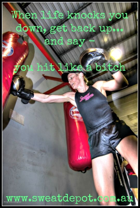 #www.sweatdepot.com.au #boxing #hard core training  # bad day inspiration # fitness