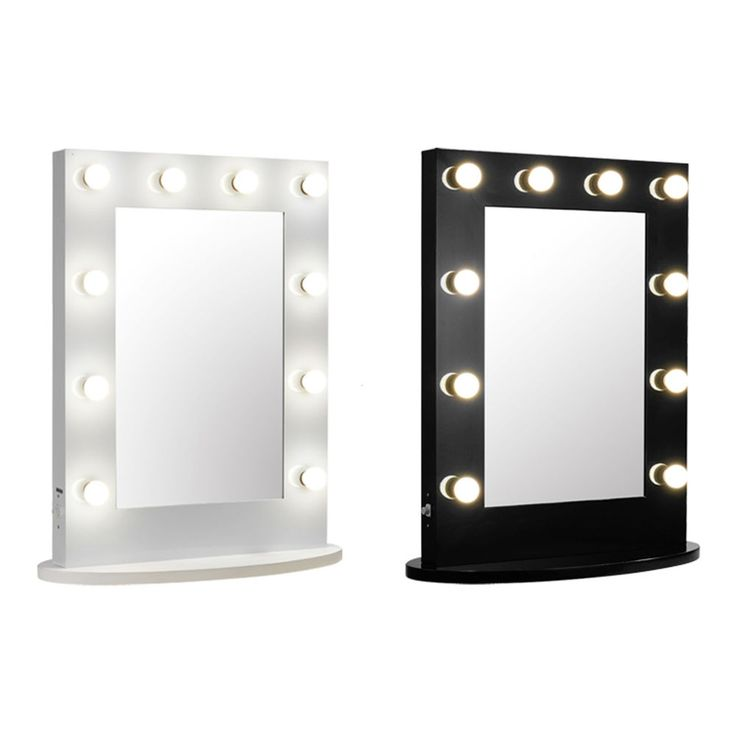 Hollywood Makeup Vanity Mirror with Light Dimmer Stage Beauty Mirror Aluminum #Chende