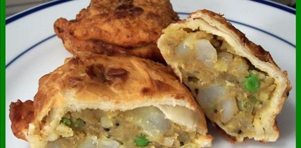 Indian Samosas Recipe Picture