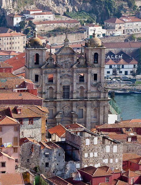 Porto, Portugal Igreja de São Lourenço.
