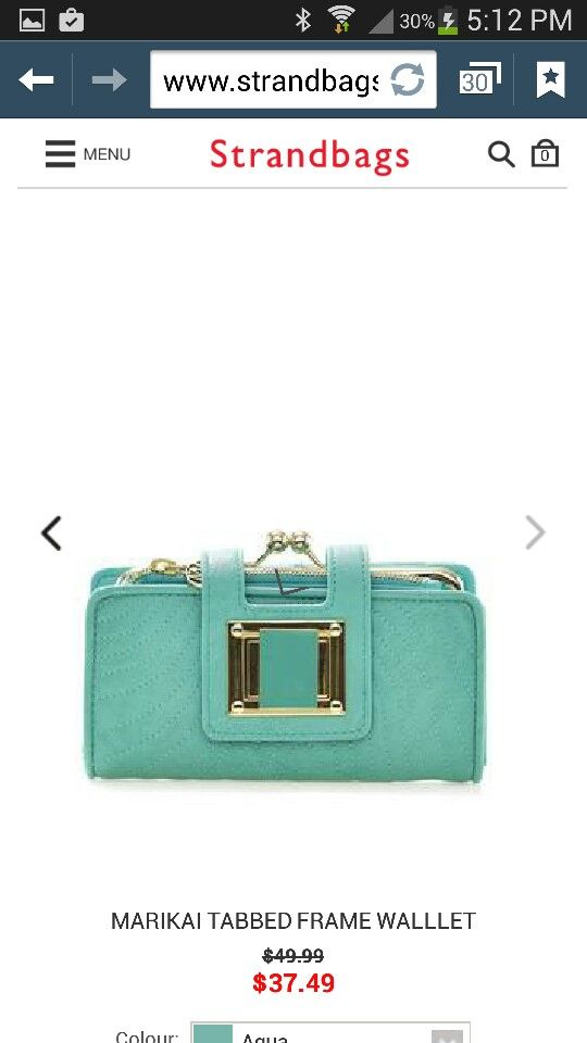 Dear santa. My purse is falling apart. I quite this pretty thing from strandbags.