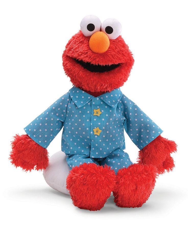 Loving this GUND Sleepytime Elmo Plush Toy on #zulily! #zulilyfinds