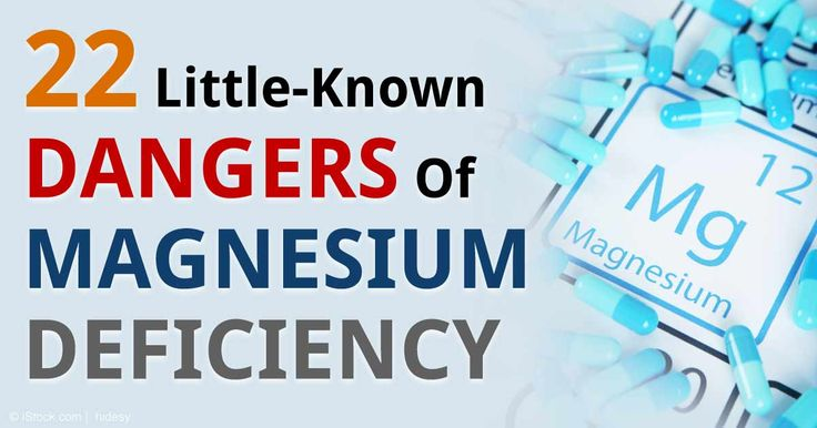 Magnesium is often thought of primarily as a mineral for your heart and bones, but researchers reveal that its role may have been underestimated. http://articles.mercola.com/sites/articles/archive/2015/01/19/magnesium-deficiency.aspx