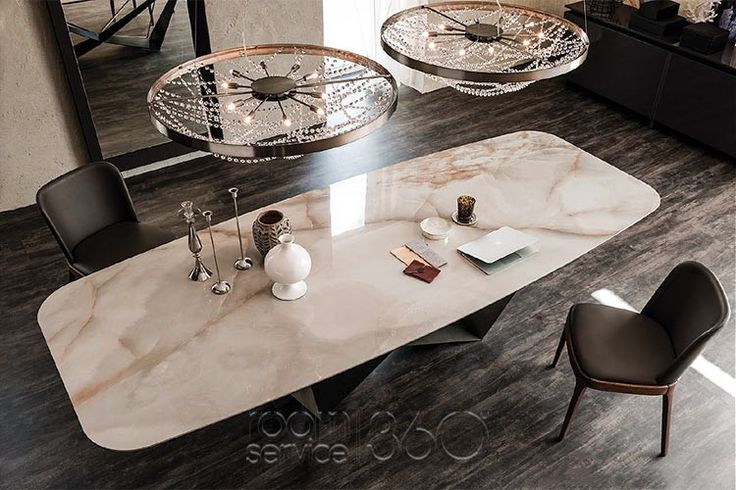 Skorpio Keramik Dining Table By Cattelan Italia Is Equally Suited For  Formal Engagements As Well As Every Day Domestic Use.