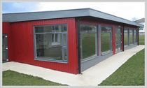 Modular School Buildings & Prefabricated Classrooms - Modular Building Systems Portable Cabins Modular Buildings UK Ireland