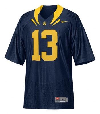 California Bears Football Jersey: Nike Navy Football Jersey