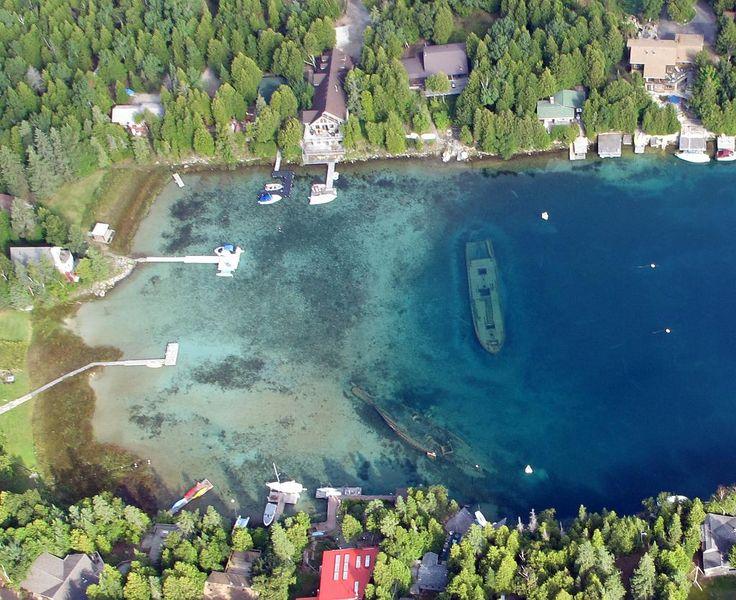 Tobermory Bruce Peninsula - home to Flowerpot Island, Bruce Peninsula National…