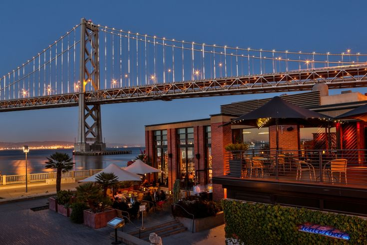 San Francisco Restaurants With Spectacular Views - Water Bar