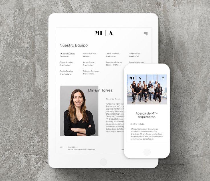 MT | A Website on Behance