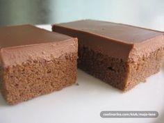 Za 20 minút hotové a vždy šťavnaté a to vďaka špeciálnej poleve.. ;-) Extra rýchle čokoládové kocky