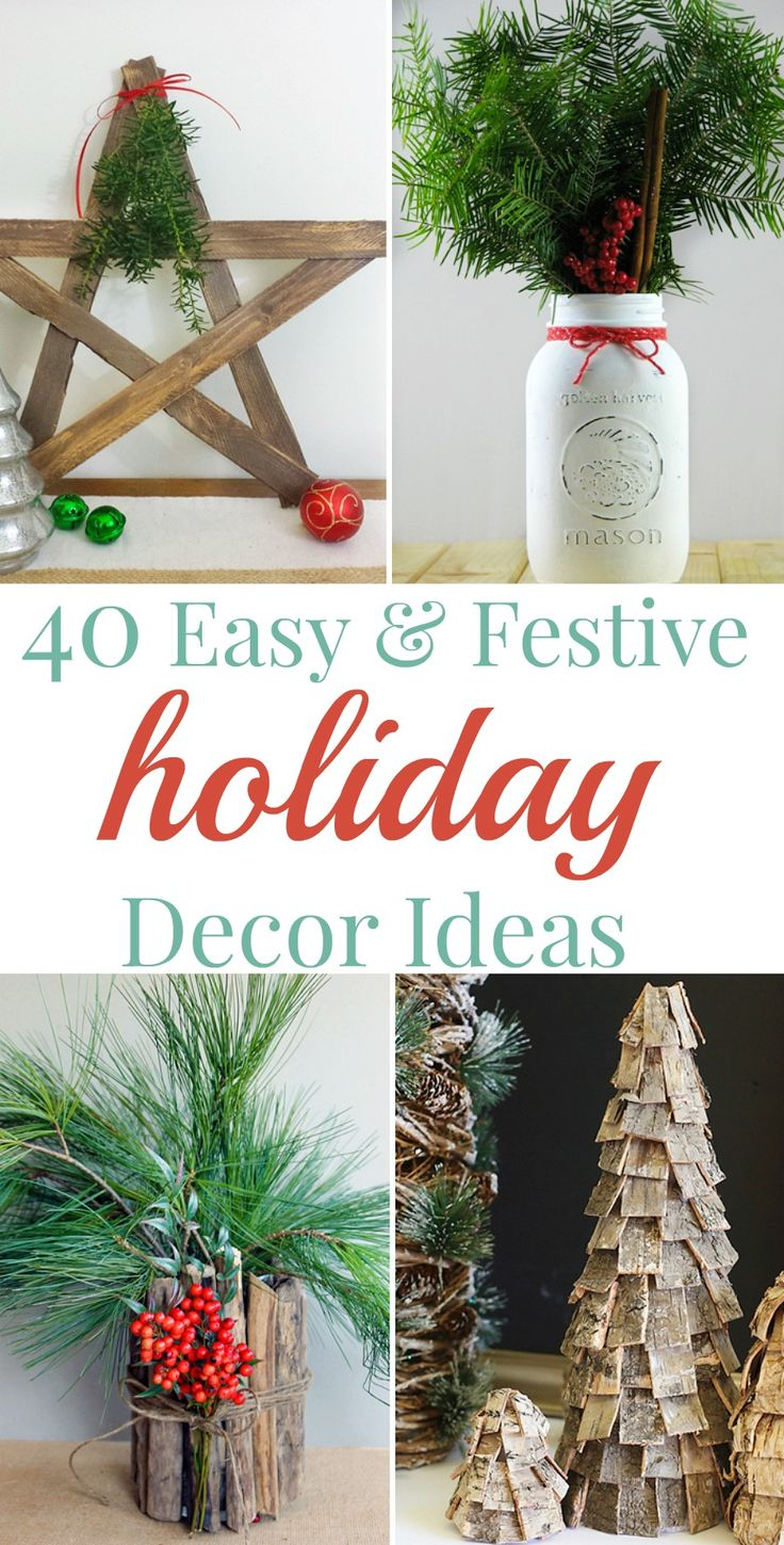 Your home improvements refference christmas dinner table decorations - Holiday Decor Ideas 40 Easy Festive Ways To Dress Up Your Home