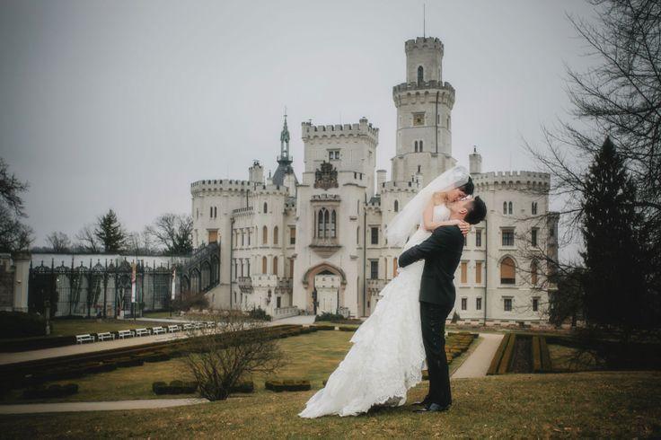 Suki & Steven's Castle Hluboka Wedding!