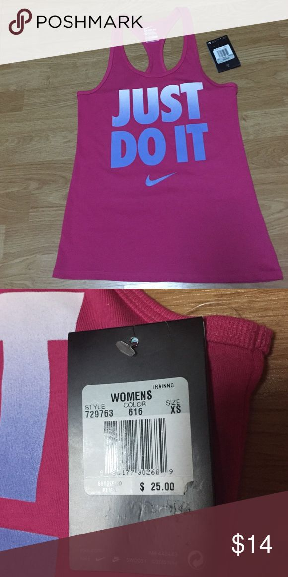NWT Nike Top New with tag pretty in pink Nike tank top. Nike Tops Tank Tops