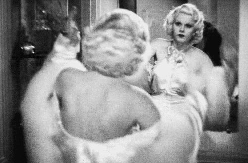 """Jean Harlow in """"Dinner at Eight"""", 1933"""