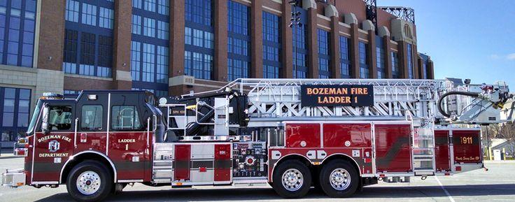 Sutphen : Fire Apparatus Manufacture : SPH100 Aerial Platform