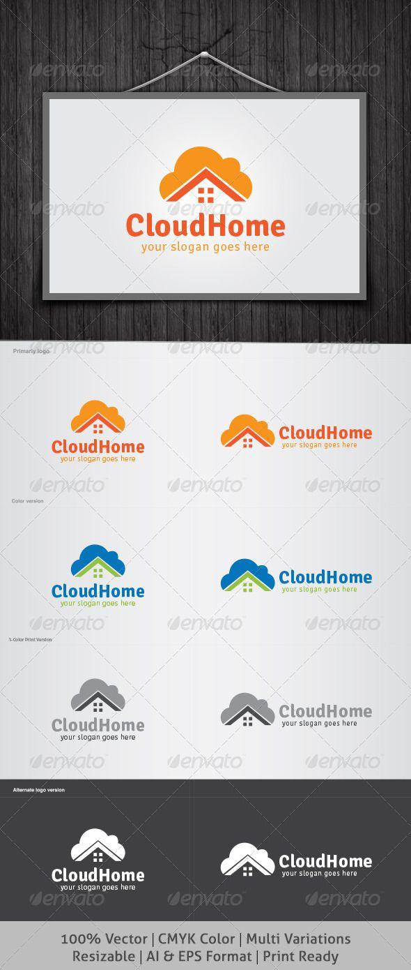 49 best logo templates images on pinterest logo templates font cloud home logo