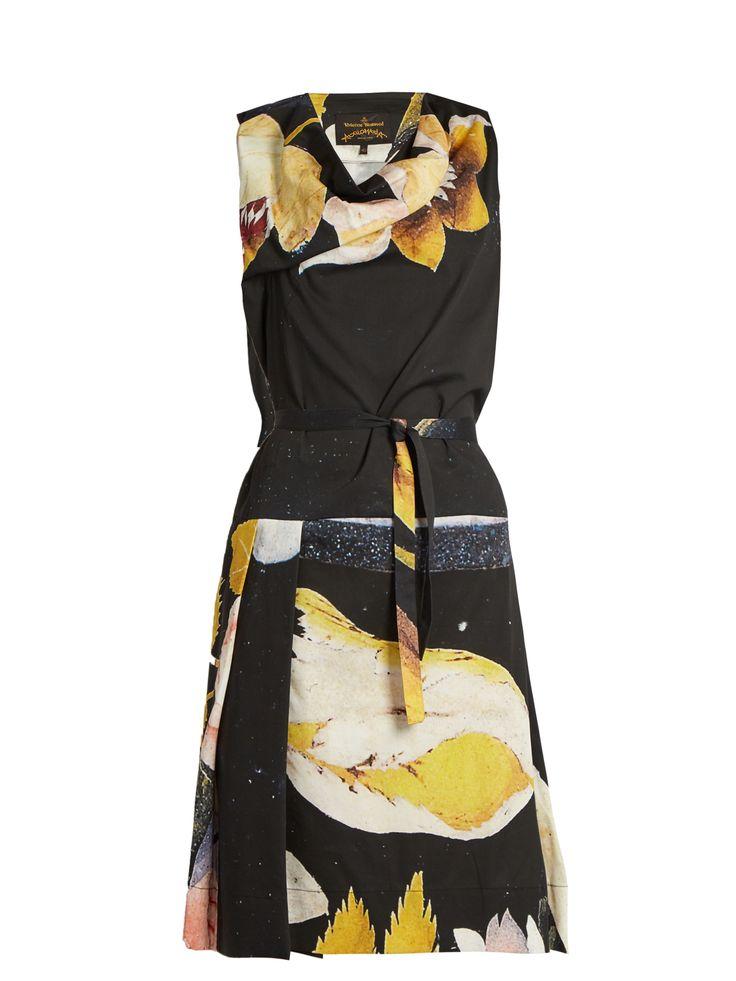 Capri floral-print cotton dress | Vivienne Westwood Anglomania | MATCHESFASHION.COM UK