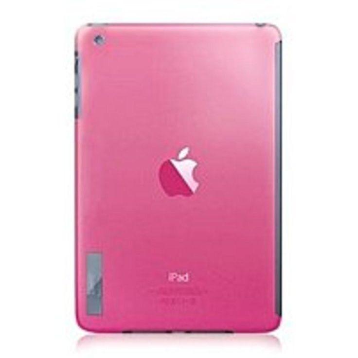 Luardi LIPAD3C-CPNK Crystal Snapon Smart Cover Lock for iPad Mini - Pink