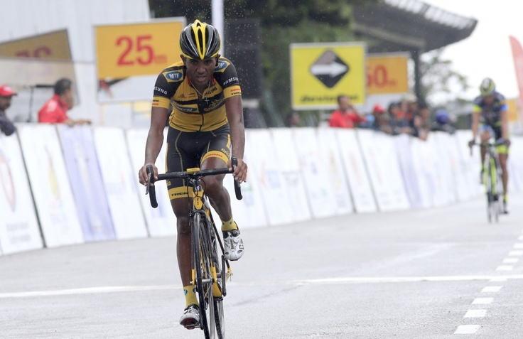 Tsgabu finishes 7th on the Genting Stage