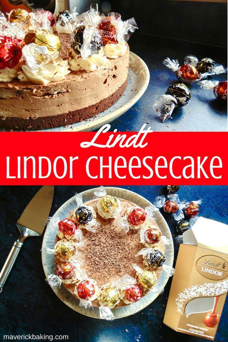 Christmas Cheesecake Ideas.Lindt Lindor Cheesecake