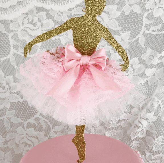 decoração festa a bailarina