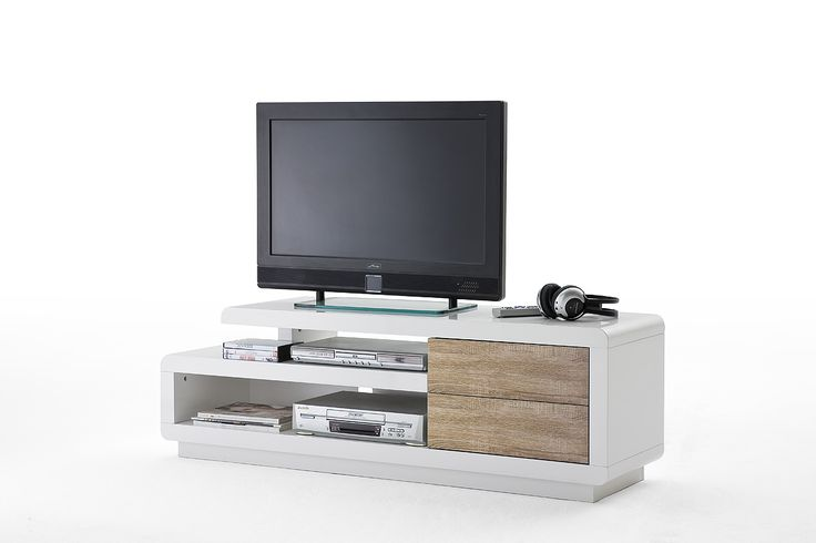 TV Tisch Cosima, Media-Element, Lowboard Sonoma Dekor