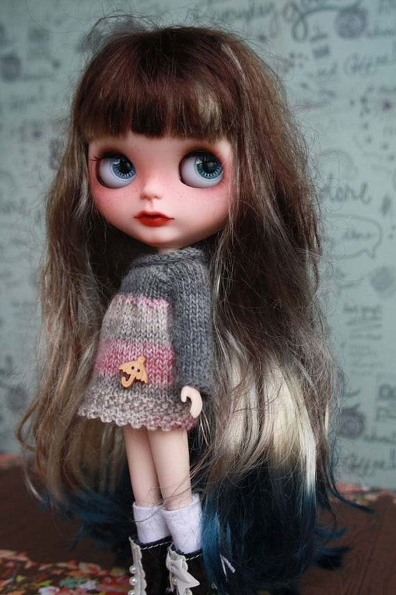 Evelina -- OOAK Custom Blythe