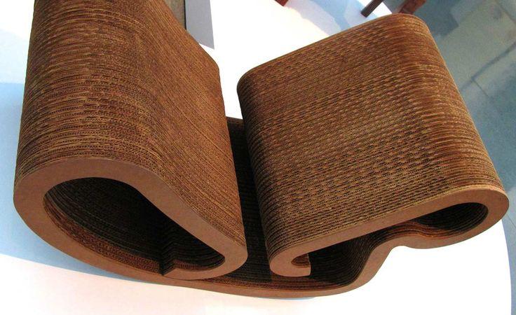 Furniture Cardboard Design Ideas ~ http://www.lookmyhomes.com/wonderful-frank-gehry-furniture-cardboard/