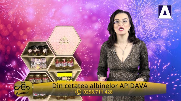 Din cetatea albinelor Apidava - Noul An cu sanatate si cu dulciuri Apidava