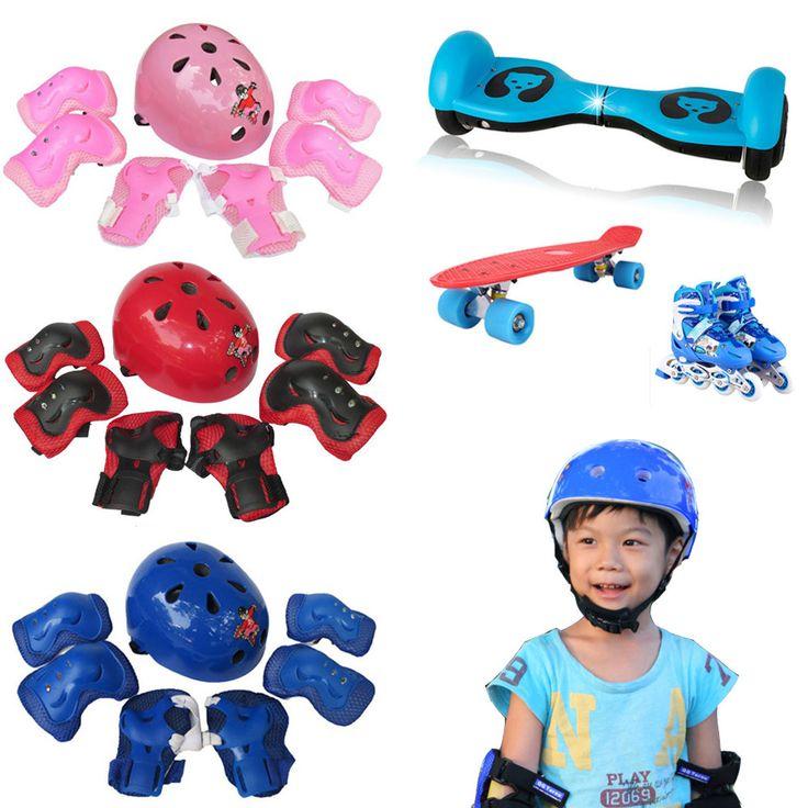 Get Discount Bicycle Helmet Kid Child Self Balancing Bike Roller Knee Elbow Wrist Skateboard Helmet Pad 7pcs 2018 drop shipping #Bicycle #Helmet #Child #Self #Balancing #Bike #Roller #Knee #Elbow #Wrist #Skateboard #7pcs #2018 #drop #shipping