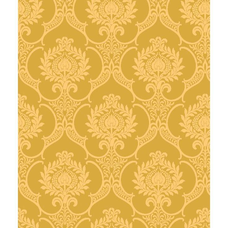 papel de pared vintage amarelo