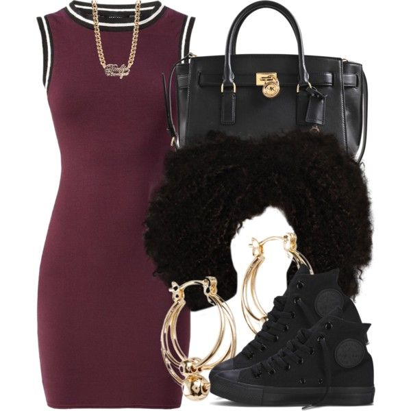 3|20|15 by miizz-starburst on Polyvore featuring polyvore fashion style Michael Kors ASOS Paul's Boutique Converse