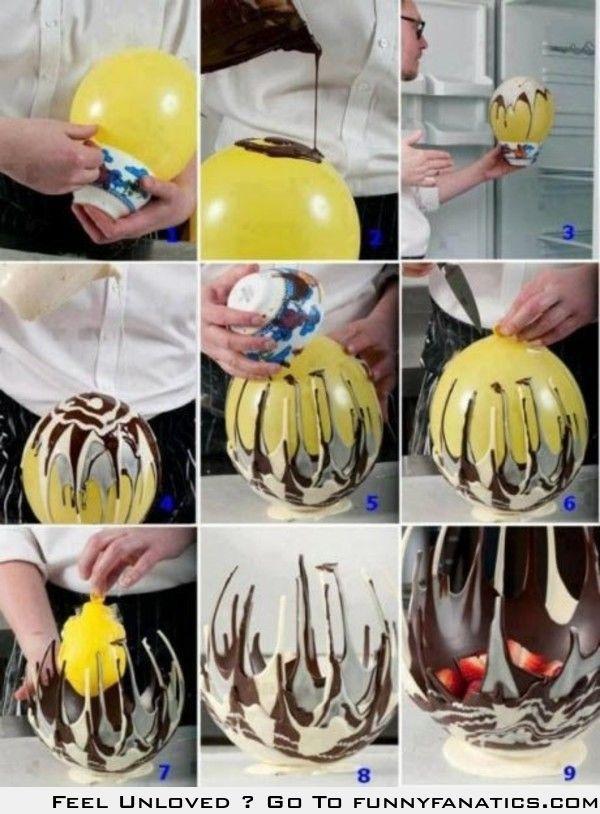 Make an edible bowl at your next party.