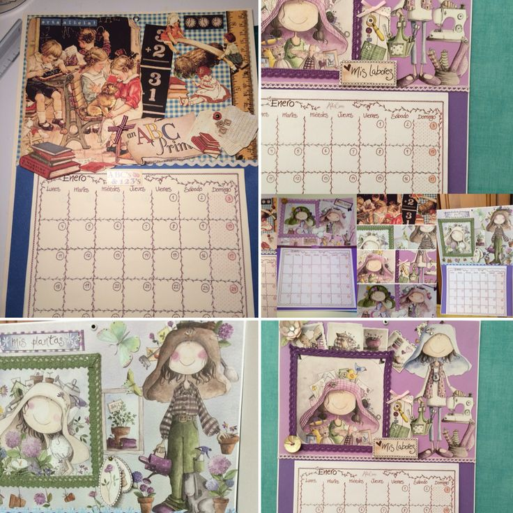 Selección de calendarios artesanales