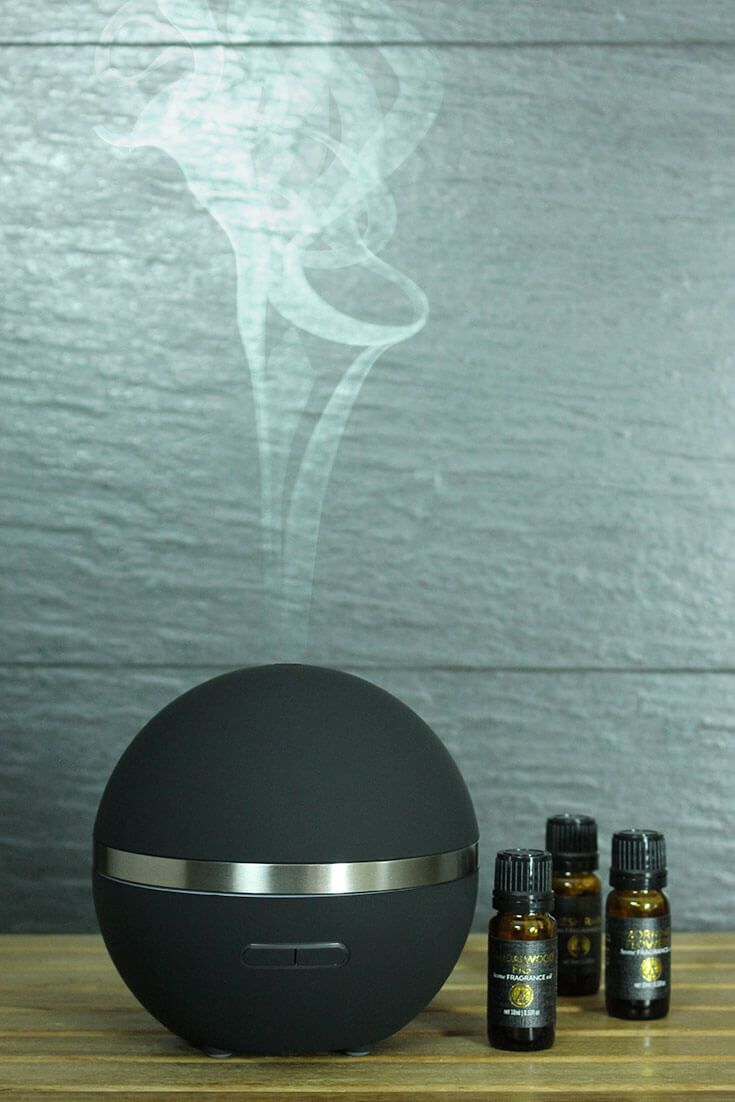 diffuse fragrance throughout your home with our ultrasonic aromatherapy diffuser and home fragrance oils. easy to use and mess free! acdc candle co.