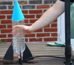 Esperimenti scientifici per bambini – Razzo ad acqua   Lapappadolce