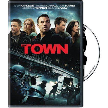 The Town Dvd Walmart Com Good Movies I Movie Favorite Movies