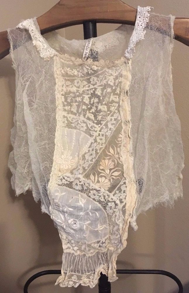 New Stunning Magnolia Pearl Delicate Sleeveless Speciality VEST   eBay