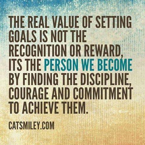 Goal Setting has positive long term effects.