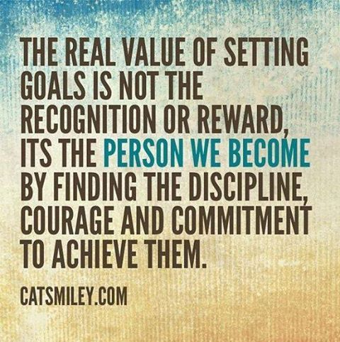Goal Setting has positive long term effects.