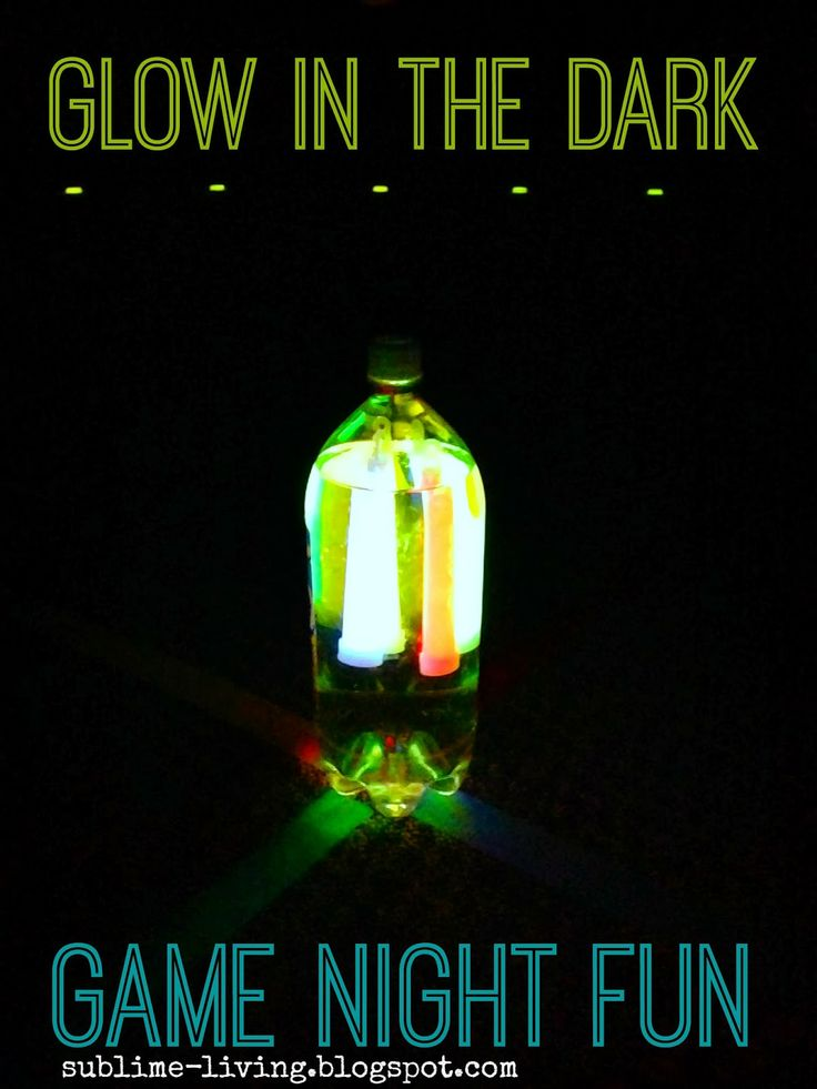 Family Fun - Glow in the Dark Party  SUBLIMEliving
