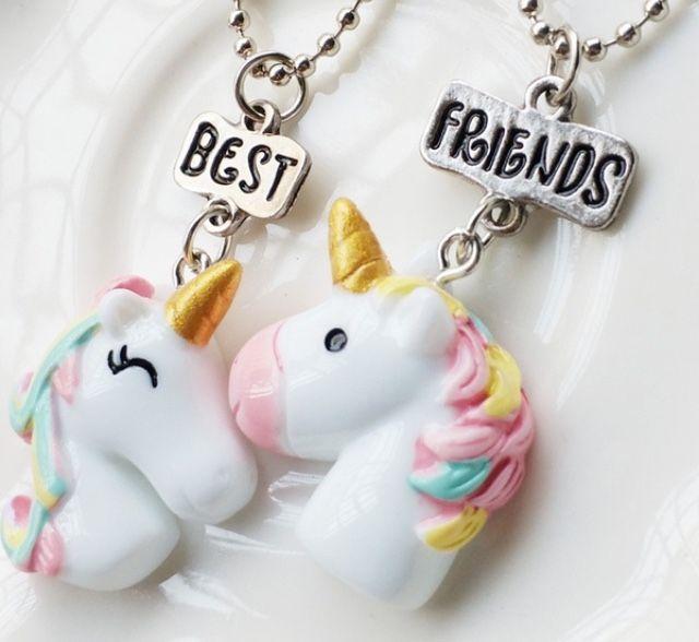 Unicorn Best Friend Necklaces