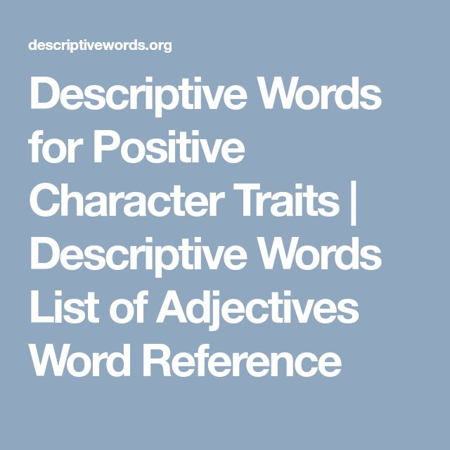 Best 25+ Adjective Words Ideas On Pinterest English For Students   Good Descriptive  Words For  Descriptive Words For Resume